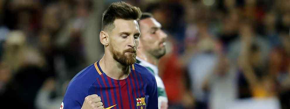 El jugador del Barça que quiere irse harto de Messi