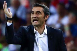 """Valverde se despide del FC Barcelona con un polémico """"Visca Catalunya"""""""