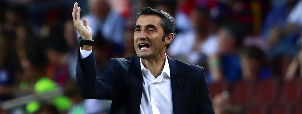El otro ocupa en el vestuario del Barça: Valverde no lo echará ni con agua caliente