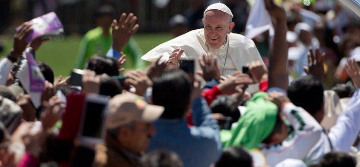 """""""Francisco es un Papa que a uno lo hace sentir muy bien, como en casa"""""""