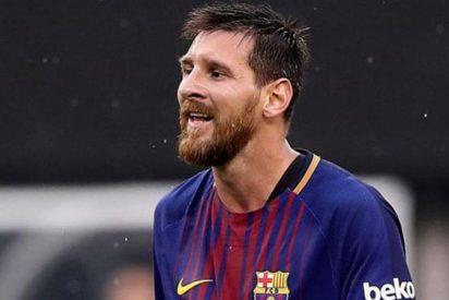El recadito de Messi a Cristiano Ronado al final del Barça-Espanyol (¡Vaya palo!)