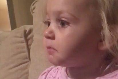 Si esta niña no te emociona ni un poquito no sabemos qué puede hacerlo