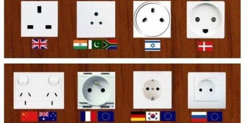 ¿Sabes el motivo por el que no existe un enchufe eléctrico universal?