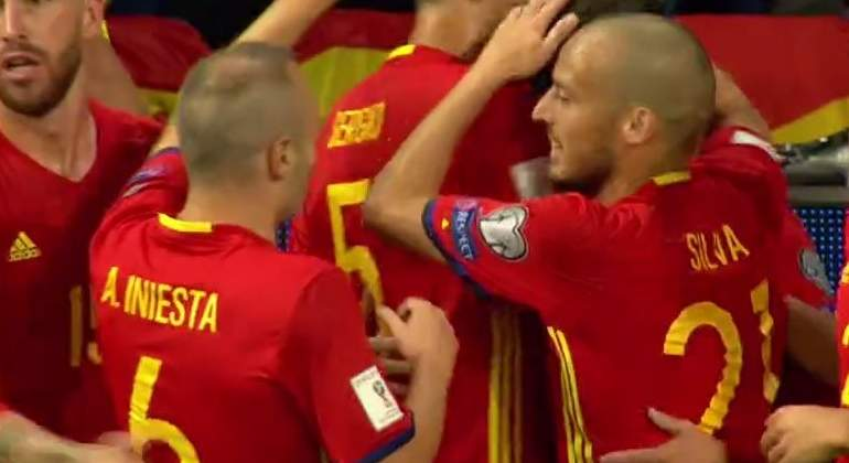 Alrededor de 10 millones de espectadores vieron el España-Italia