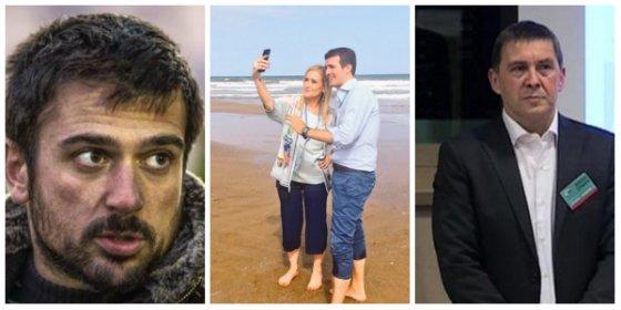 """Twitter le parte la jeta al bocazas de Espinar por burlarse de la foto del PP: """"Mejor hacérsela con el mar que con Otegi"""""""