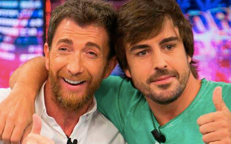 Fernando Alonso le toma el pelo a Piqué con Pablo Motos