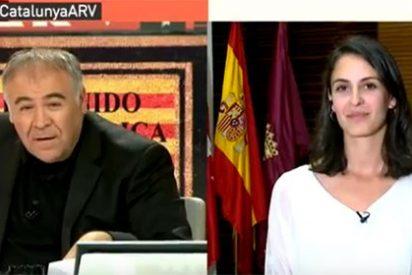 Ferreras acorrala a una nerviosa Rita Maestre con una pregunta directa sobre el referéndum catalán