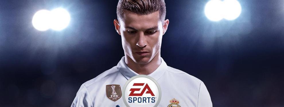 FIFA 18 de EA Sports mete un palo bestial a una estrella del Real Madrid