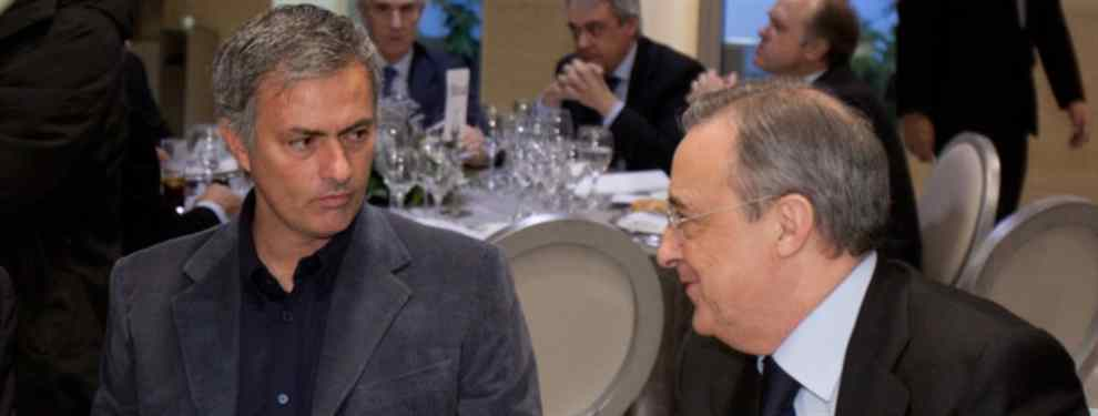 Florentino Pérez avisa de una fuga sonada en el Barça (y Mourinho está detrás)