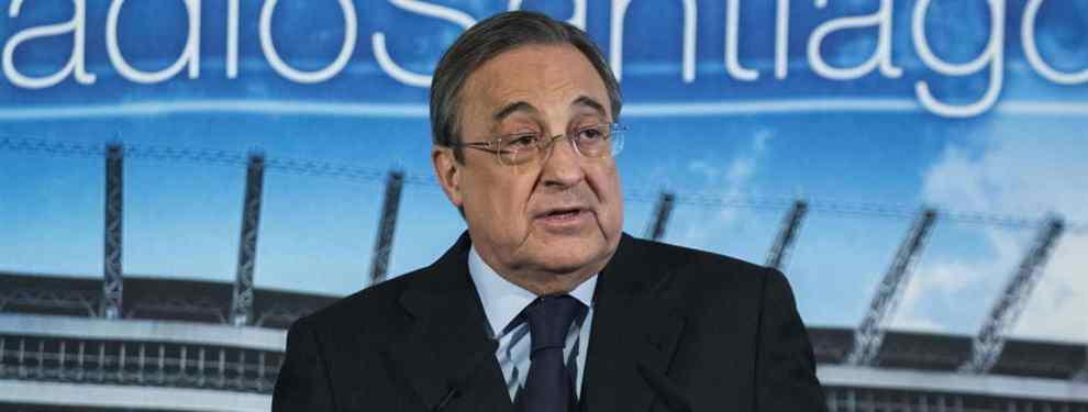 Florentino Pérez cuenta que jugador del Barça va como loco por jugar en el Real Madrid