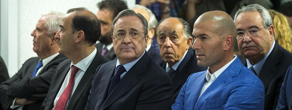 Florentino Pérez negocia en secreto con una estrella de Liga para traerlo al Real Madrid