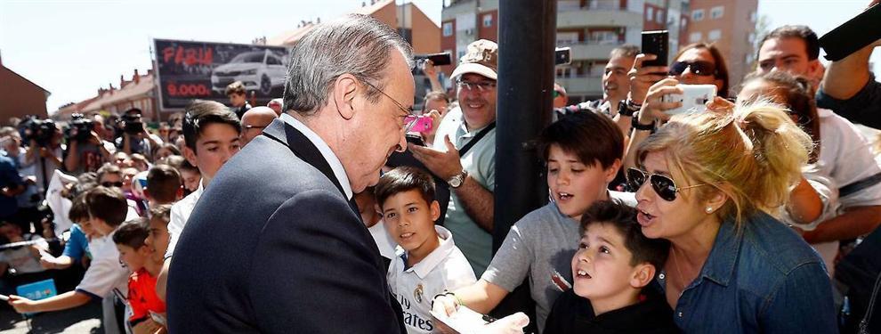 Florentino Pérez tiene un incendio de última hora en el Real Madrid: más dinero o puerta