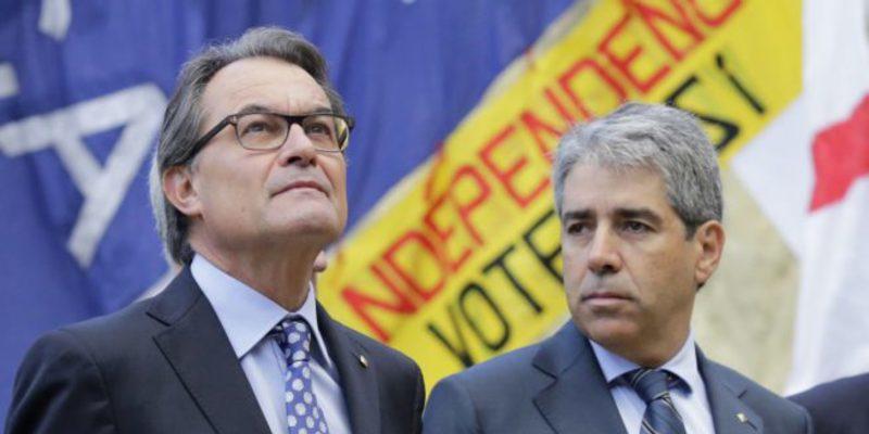 El Tribunal de Cuentas embargará a Artur Mas todos sus bienes si no deposita en 15 días los 5,5 millones del 9-N