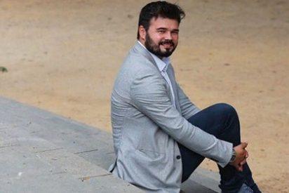 """'El Periódico' sorprende a sus lectores con una certera definición de Gabriel Rufián en su crucigrama: """"Granuja de ERC"""""""