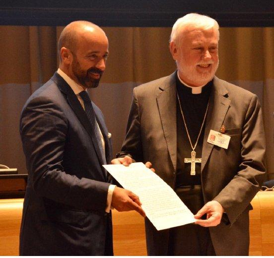 La Santa Sede firmó el Tratado sobre la prohibición de armas nucleares