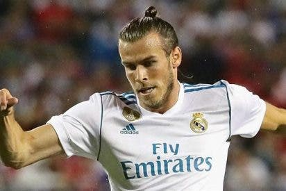 Gareth Bale le pone la cruz a un jugador del Real Madrid