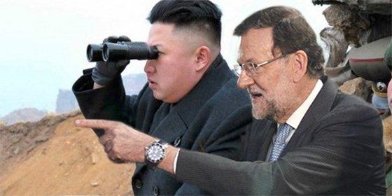 El tronchante 'meme' con Rajoy, Kim Jong-un y Cataluña que circula por WhatsApp a toda velocidad