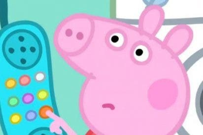 Peppa Pig deja con la palabra en la boca a una amiguita con la que hablaba por teléfono y la escena arrasa en Twitter