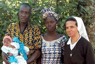 La monja colombiana secuestrada en Malí sigue viva