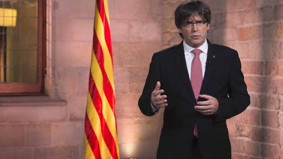 """Puigdemont se pone más chulo: """"Solo el Parlament puede inhabilitar a mi Gobierno"""""""