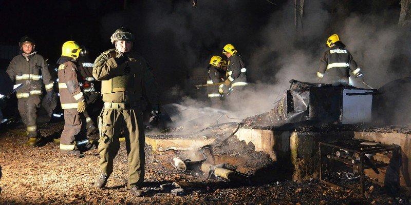 Prenden fuego a tres iglesias en la región chilena de La Araucanía