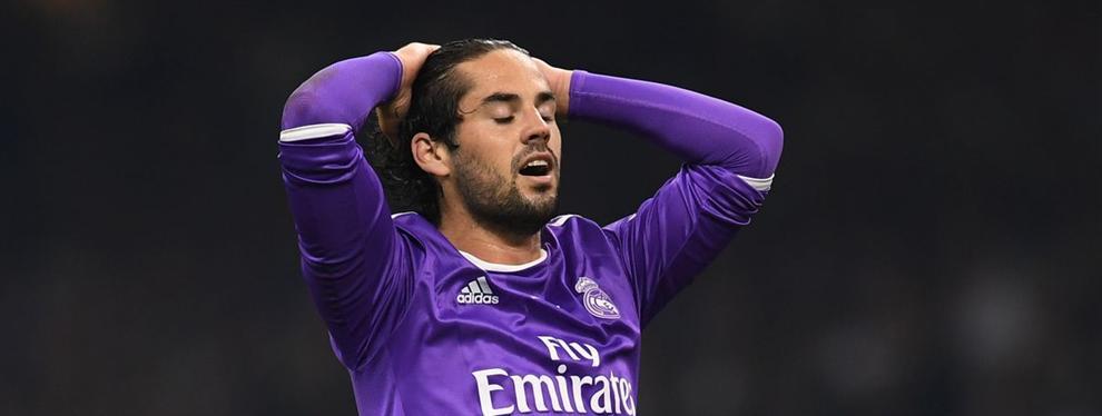 Isco mete un crack del Real Madrid en un lío muy gordo