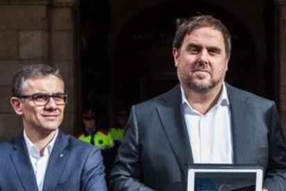 La Guardia Civil 'trinca' al equipo de Junqueras que organiza el referéndum ilegal en Cataluña