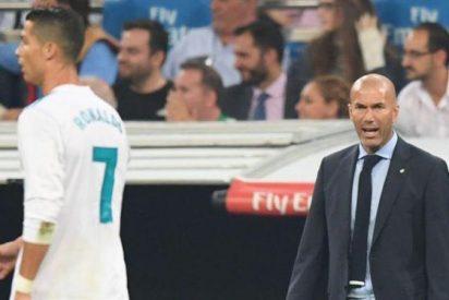 La bronca no contada (y el 'bombazo') con Zidane y Florentino Pérez en el vestuario del Madrid
