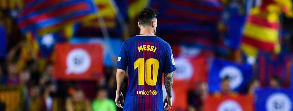 La independencia de Catalunya mete a Messi en un lío muy gordo en el Barça