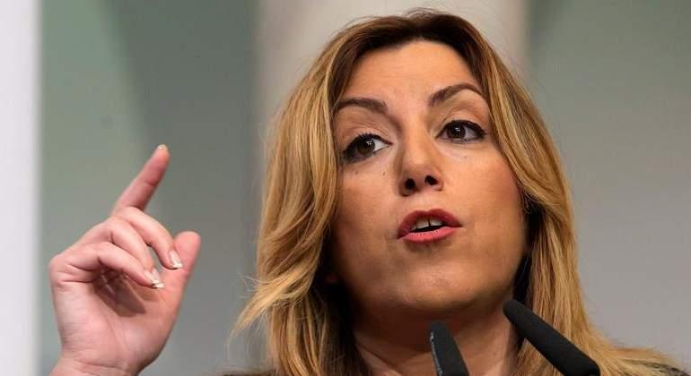 Susana Díaz pasa de Pedro Sánchez y vota a favor de apoyar al Gobierno de España frente al desafío catalán
