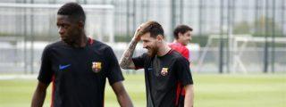 La primera frase de Leo Messi a Ousmane Dembélé en el Barça