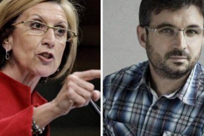 Jordi Evole se pone chuleta con Rosa Diéz y algunos tarados de Twitter lo jalean