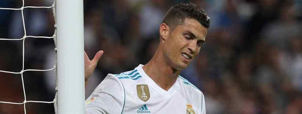 La única vía de escape que tiene Cristiano Ronaldo del Real Madrid le saca los colores al portugués