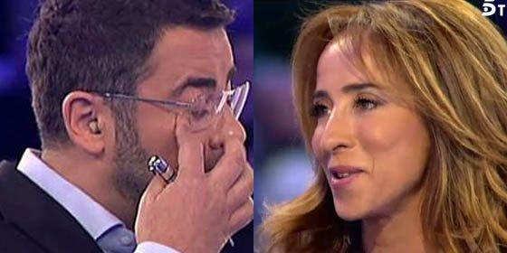 Sorprendente: Jorge Javier Vázquez reconoce haber tratado mal a su 'amiga' María Patiño durante años