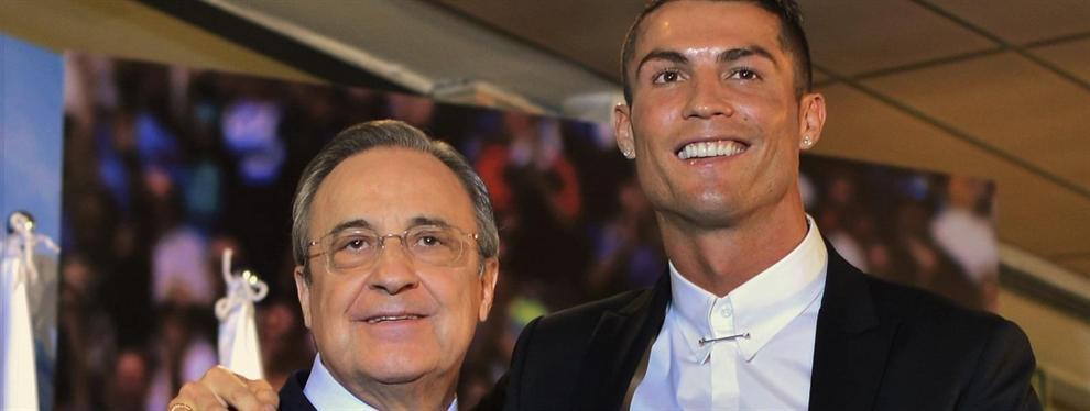 ?Lo veo en el Real Madrid?. Florentino Pérez encuentra al nuevo Cristiano Ronaldo