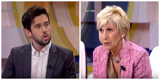 Rosa Díez destroza en medio minuto al podemita de Público que justificó el aquelarre separatista en la manifestación por el atentado en Barcelona