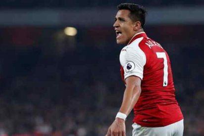 """Los fans del Arsenal estallan de ira contra Alexis Sánchez: """"poco profesional y arrogante?"""