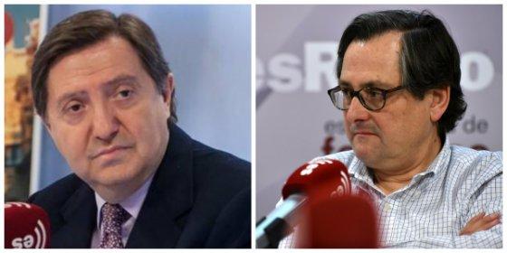"""Losantos y Marhuenda, a grito pelado: """"Paco, ¿lo de ayer en Parlament te parece una broma?"""""""