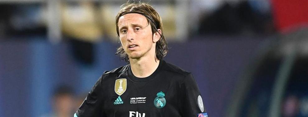Luka Modric marca su fecha de salida del Real Madrid (y ya hay un favorito)