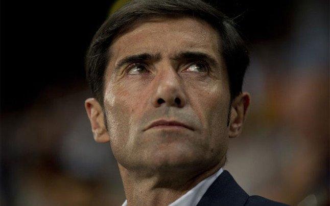 """El primer incendio serio en el Valencia de Marcelino: una cuestión de """"pelotas"""""""