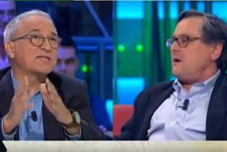 """Marhuenda estalla ante Javier Sardá por sus tesis sobre el 1-O: """"Tú no tienes ni puñetera idea"""""""