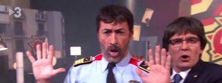 La desternillante parodia sobre el chulo Trapero y un 'salido' Puigdemont