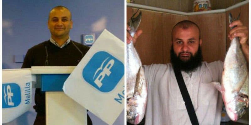 El terrorista islámico que líderaba la célula yihadista de Melilla fue afiliado del PP