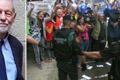 Eduardo Mendoza desarma con argumentos a los 'catabatusunos' que dicen que la Guardia Civil es una fuerza de ocupación en Cataluña