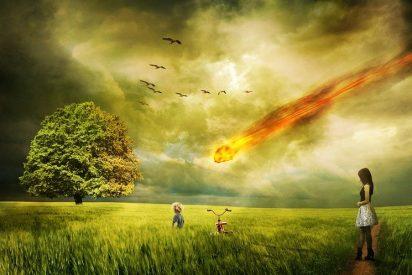 [VÍDEO] Así cayó este meteorito del cielo y entró en llamas