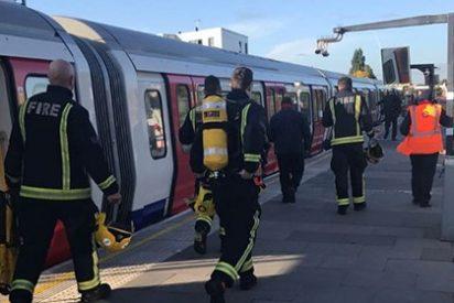 Un ataque terrorista en el metro de Londres deja varios heridos