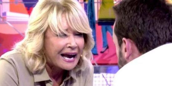 """Pelos de punta ante la brutal bronca entre Mila Ximénez y Jesús Manuel: """"¡Malo! ¡Vete a la mierda!"""""""