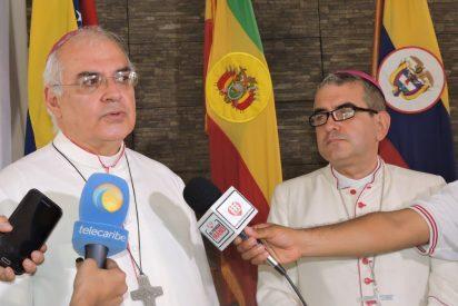 """Mario Moronta: """"Esperamos del Papa una nueva petición al gobierno y a los políticos para que se coloquen del lado del pueblo"""""""