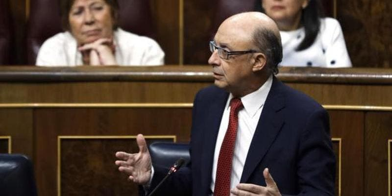 """Cristobal Montoro: """"El bloqueo de las cuentas del Govern se va a mantener de forma indefinida"""""""