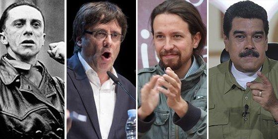 """""""El nazismo separatista y el siniestro comunismo podemita son aliados para destruir las libertades y la Nación Española"""""""